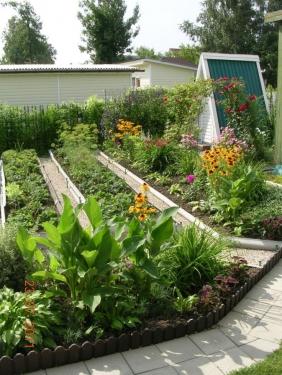Дизайн сада и огорода своими руками на 6 сотках 65