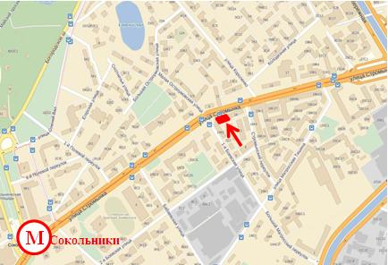 Адриенны улица стромынка на карте москвы целом очень понравилась